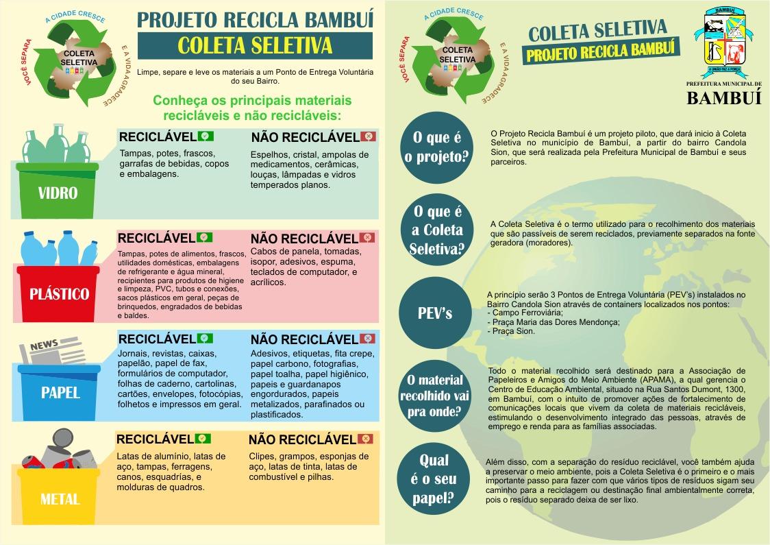Projeto Recicla Bambuí
