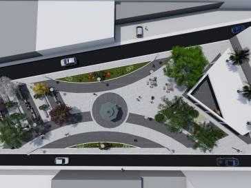 Praça Coronel Tôrres será reformada