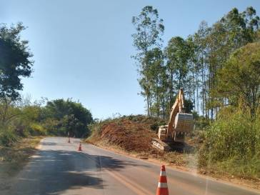 Ciclovia Bambuí IFMG começa a ser construída