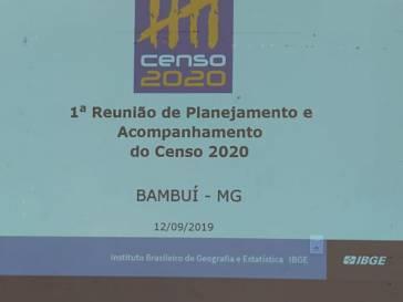 IBGE divulga planejamento para Censo 2020 em Bambuí