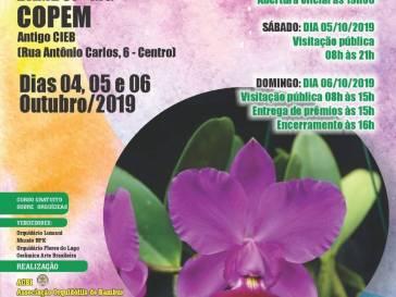 COPEM vai sediar exposição de orquídeas