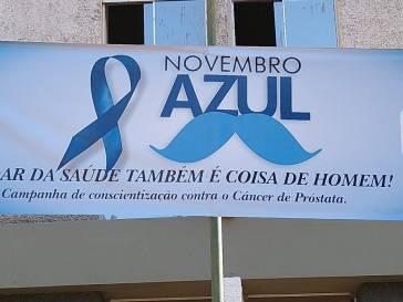 Bambuí na campanha do Novembro Azul