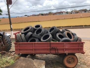 Prefeitura vai recolher pneus usados