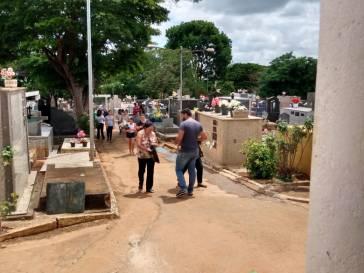 Combate a Dengue no dia de Finados