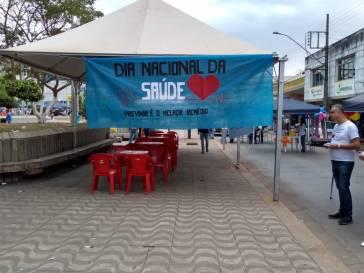 Praça será palco da Passarela da Saúde