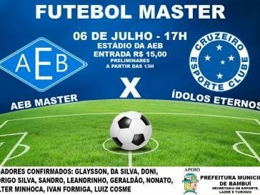 Bambuí recebe o Cruzeiro Master