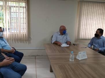 Bambuí participa de reunião com a CODEVASF