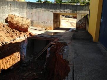 Prefeitura melhora a canalização da rede pluvial