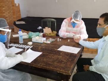 Prefeitura testa servidores que tiveram contato com infectado de Covid 19
