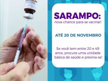 Prevenção contra o Sarampo