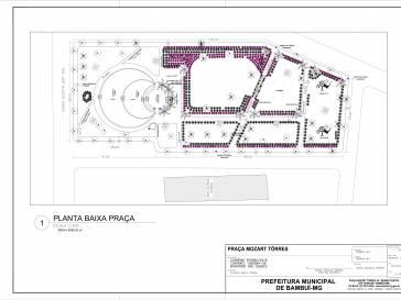 Praça Mozart Tôrres será revitalizada