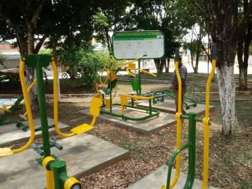 Bambuí tem novas academias ao ar livre