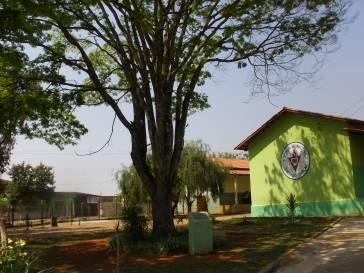 Prefeito anuncia cobertura da quadra da Escola Sagrado Coração