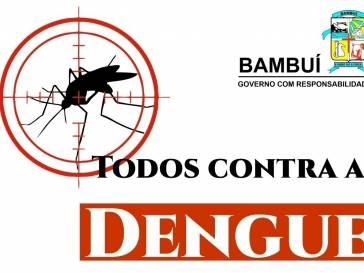 O risco da dengue está presente