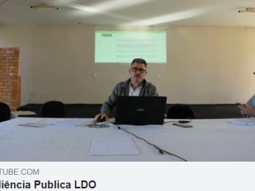 Audiência pública da LDO