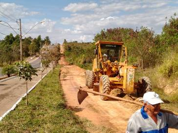 Prefeitura prepara via marginal para comemorações do aniversário de Bambuí