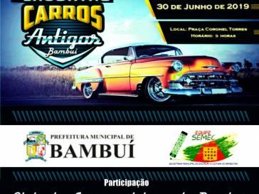 Encontro reunirá carros e motos Antigos em Bambuí