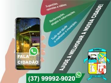Prefeitura lança WhatsApp Fala Cidadão