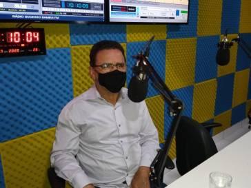 Os 134 anos de Bambuí foi tema das entrevistas nas rádios