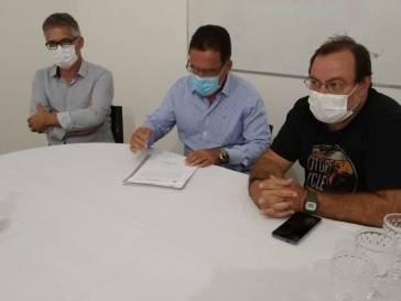 Prefeito Olívio assume direção do CIS-URG SAMU