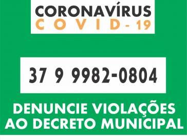 Disque denúncia coronavírus